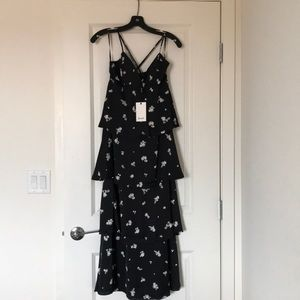 SOLD new with tags* Tiered maxi dress